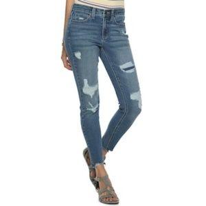 Mudd Junior's Low Rise Skinny Dark Wash Jeans